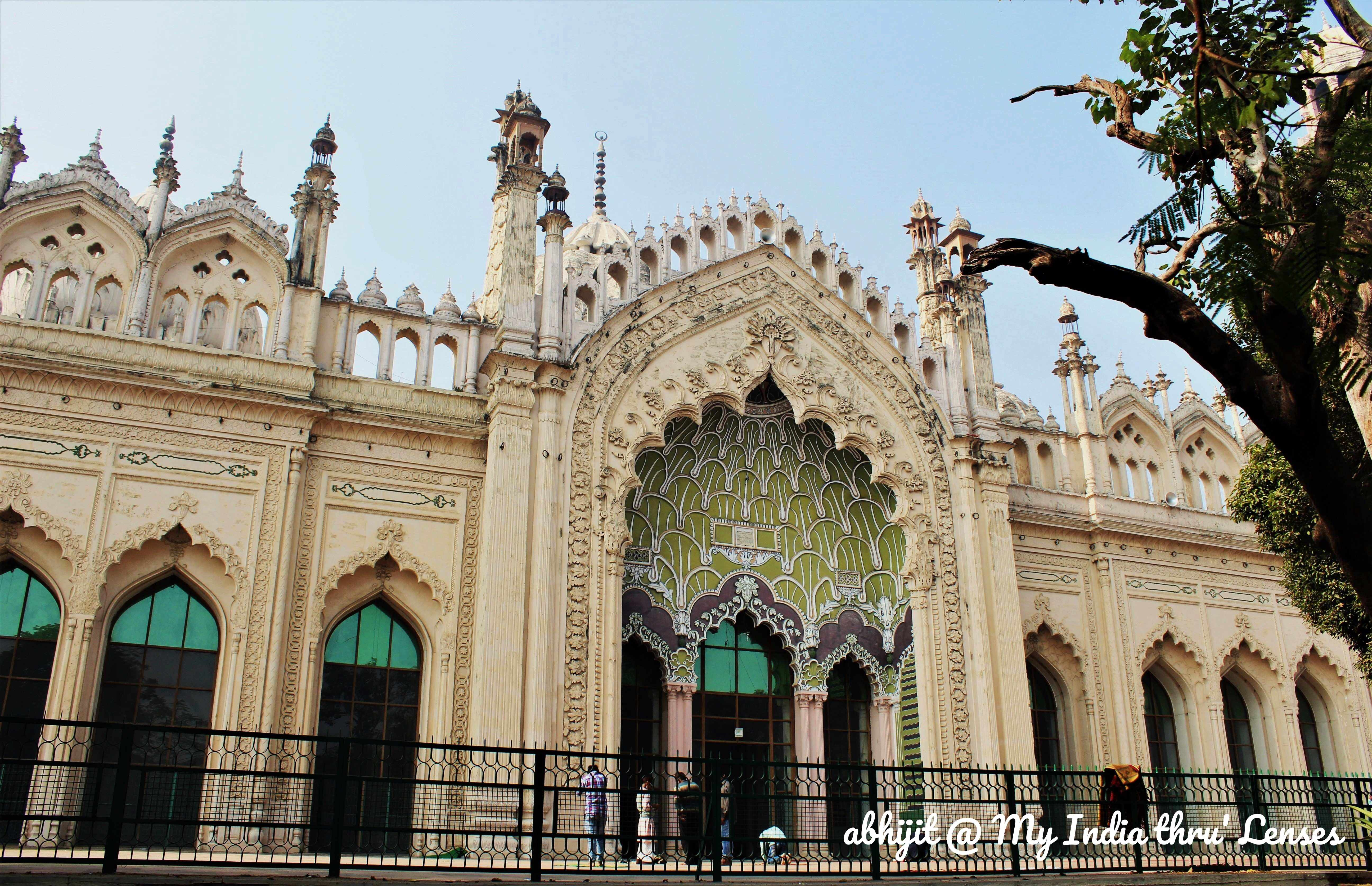 The Jama Masjid, Lucknow